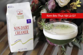 Kem Béo Thực Vật Là Gì? Non-dairy creamers là gì