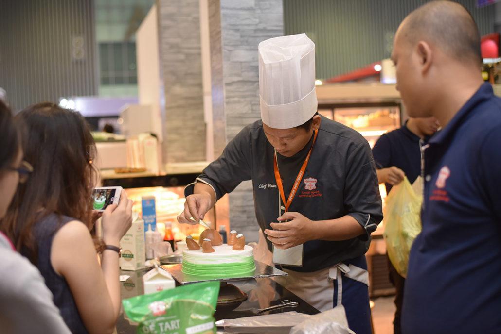triễn lãm làm bánh chuyên nghiệp
