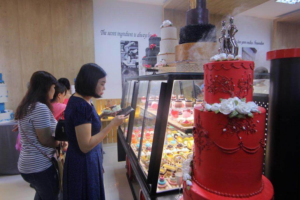 HỘI THẢO bánh cưới CHẠM NGÕ MÙA YÊU - THÁNG 11/2017
