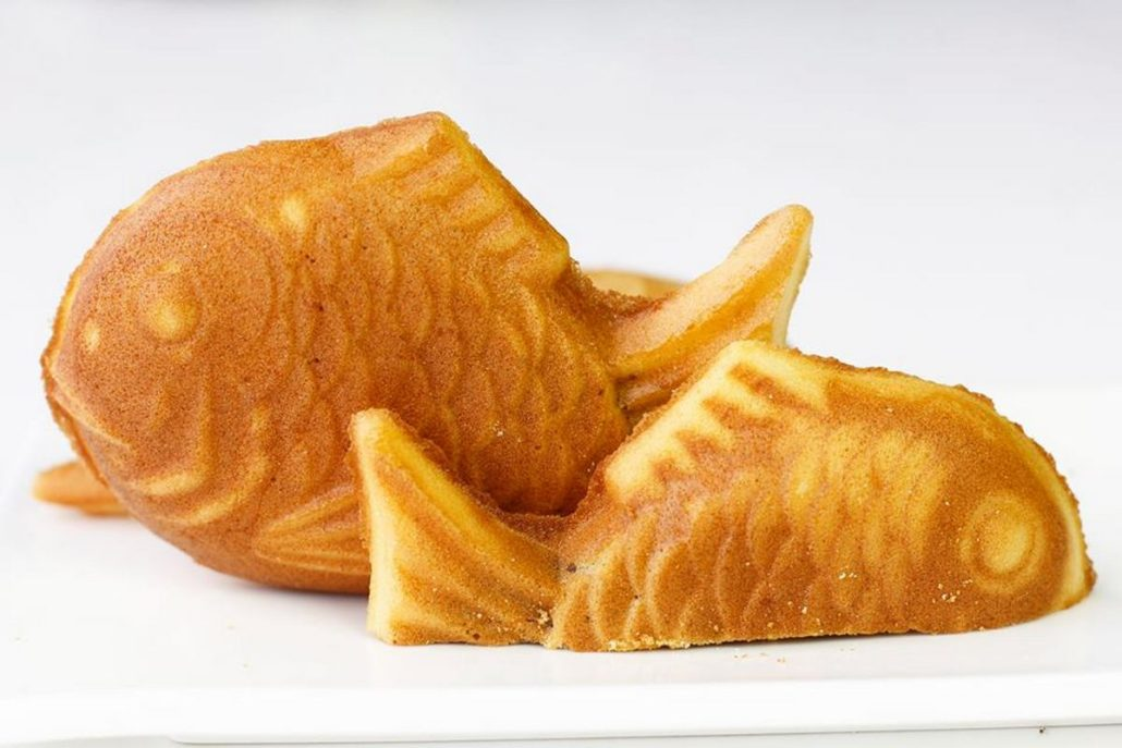 Hướng Dẫn Làm Bánh Con Cá Taiyaki Nhân Custard