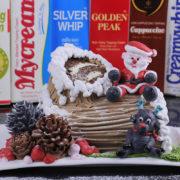 Hướng Dẫn Trang Trí Bánh Kem - Bánh Kem Khúc Cây Cho Dịp Giáng Sinh