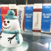 Hướng Dẫn Trang Trí Bánh Kem - Người Tuyết Noel