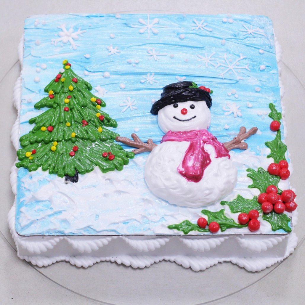 Lớp Học Let's Bake Plus trang trí bánh kem chuyên trang trí bánh cho dịp noel 2D tại Hà Nội