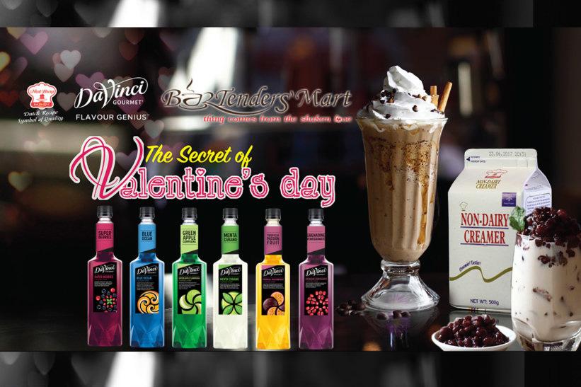 Buổi chia sẻ về chủ đề pha chế cho ngày tình yêu valentine