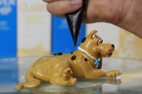 Hướng dẫn trang trí bánh kem 12 con giáp – Chú chó Scooby Doo