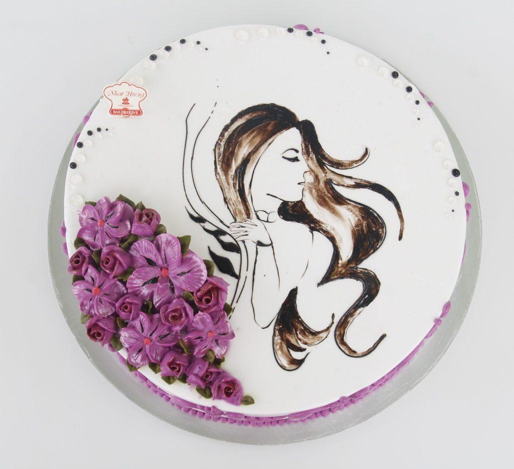 Những mẫu bánh kem đẹp cho ngày 8 tháng 3