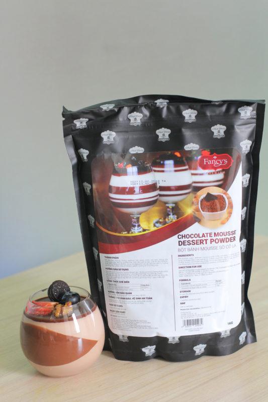 Bột Chocolate Mousse 1Kg- Bột Bánh Mousse Sôcôla