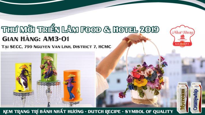 Thư mời tham dự Food &; Hotel Vietnam 2019