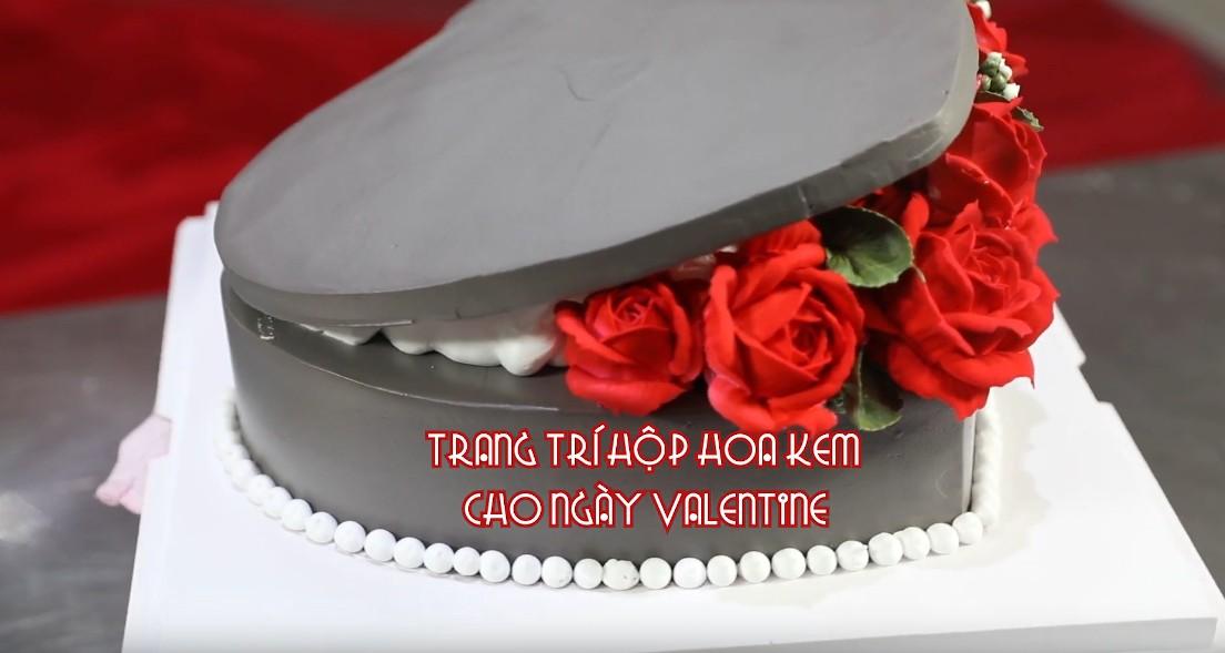 Trang Trí Hộp Hoa Kem Cho Ngày Valentine
