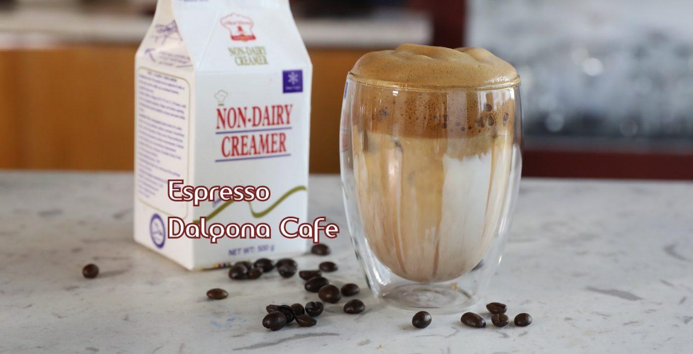Espresso Dalgona Cafe