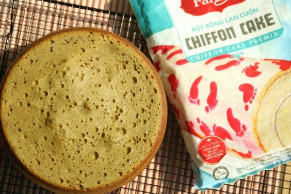 Thành phẩm bánh bông lan Chiffon