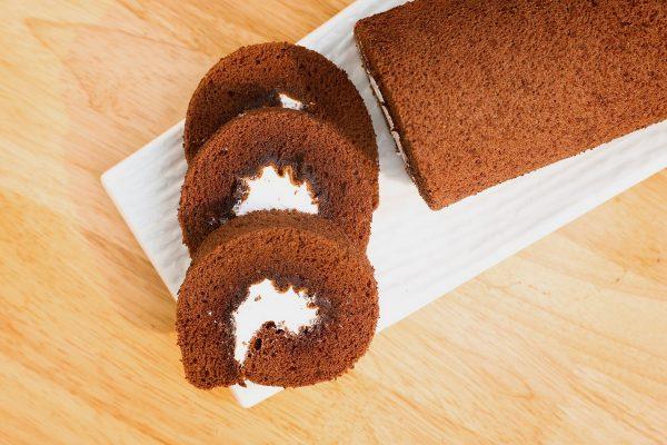 3 cách làm bánh Bông Lan Sôcôla (phần 1): Bông Lan Sôcôla Cuốn