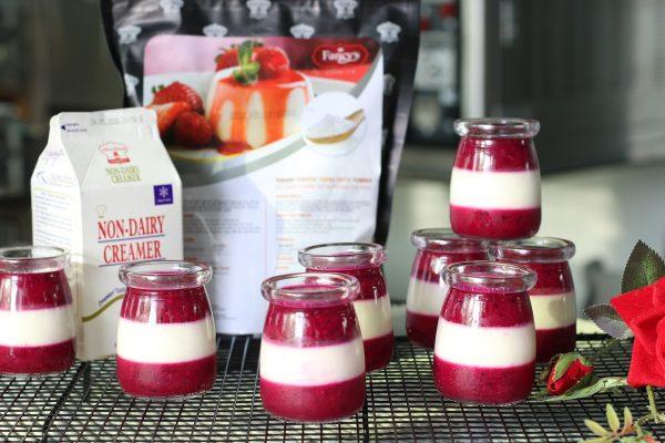 8 phần Panna Cotta Sữa Chua Thanh Long Đỏ thành phẩm