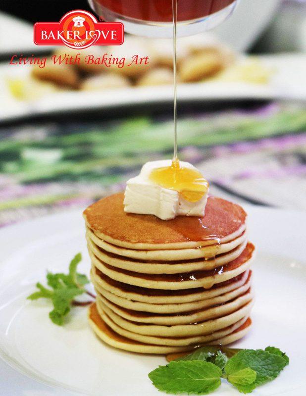 Hướng Dẫn Làm Bánh Pancake Kem Chua