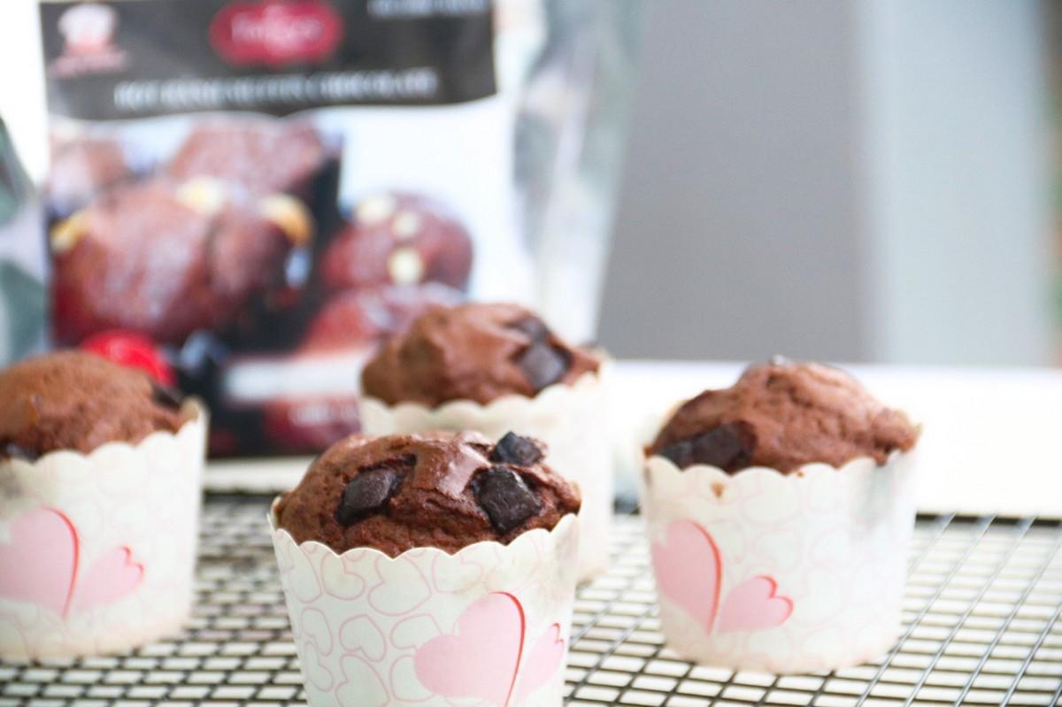 Hướng dẫn làm bánh Chocolate Muffin