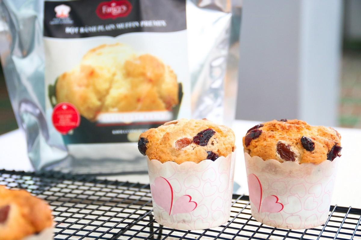 Hướng dẫn làm bánh Plain Muffin