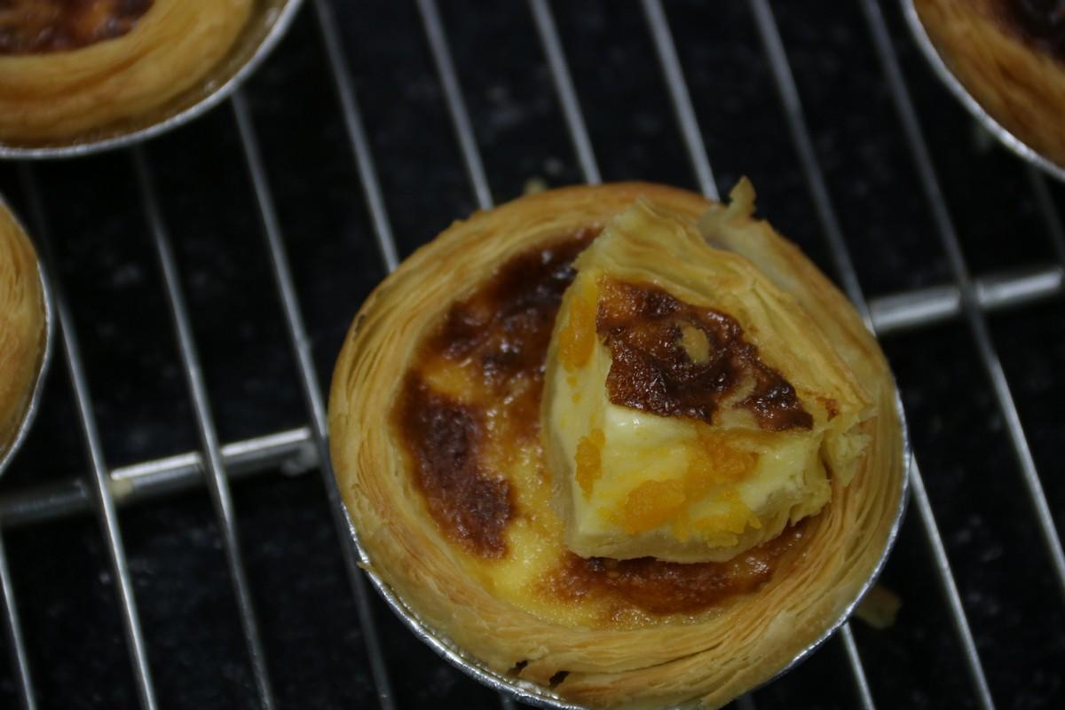 Hướng dẫn làm tart phô mai trứng muối