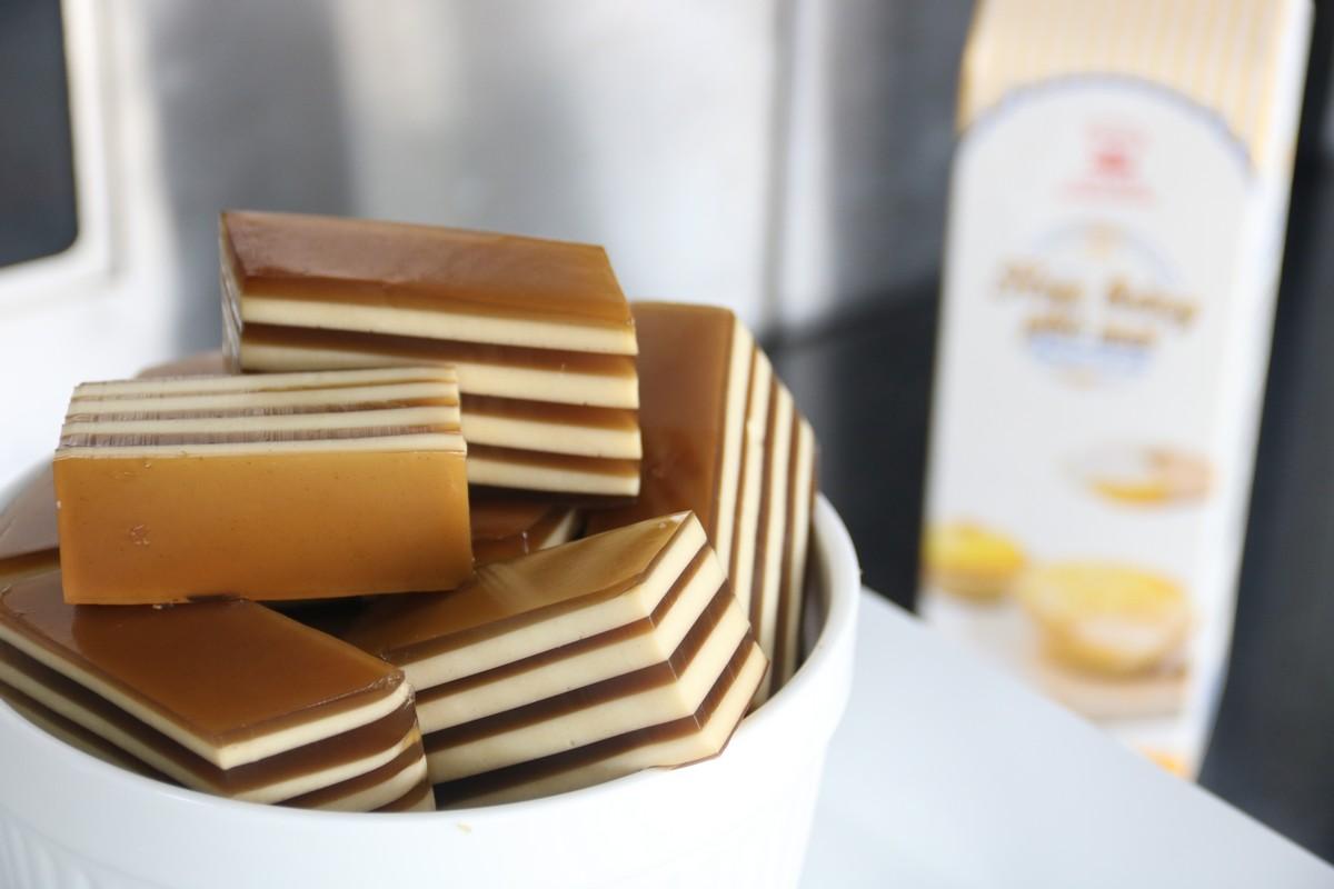 Rau câu Flan Cheese mát lạnh