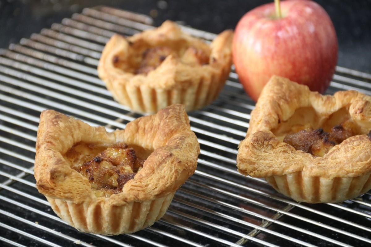 Ứng dụng Puff Pastry Nhất Hương (phần 3): Bánh nhân táo