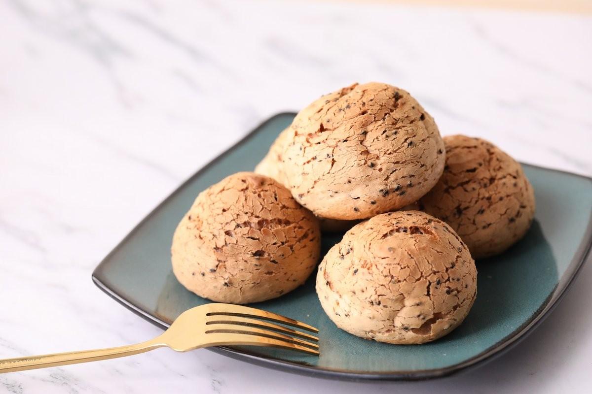 Bột Bánh Mì Mè Đen Hàn Quốc