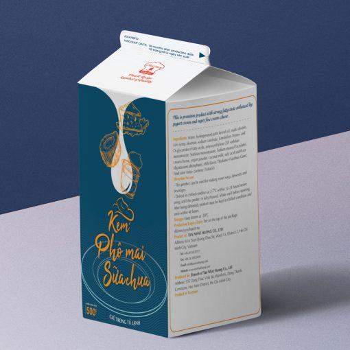 Kem Phô Mai Sữa Chua