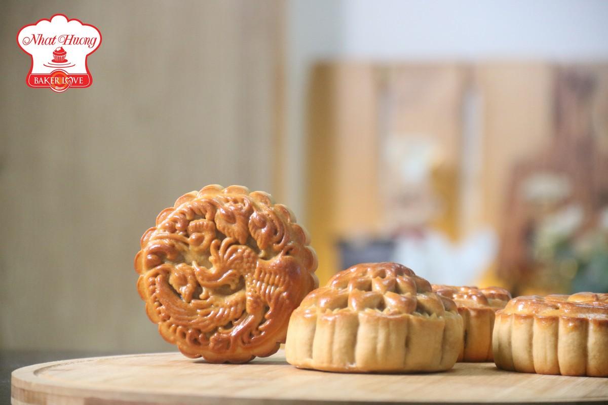 Làm bánh Trung Thu bằng nồi chiên không dầu
