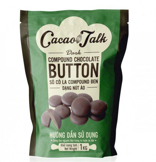 dark compound chocolate Button 1KG