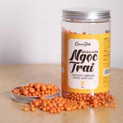 Sô Cô La Viên Ngọc Trai Màu Vàng Đồng Cacao Talk 400gr