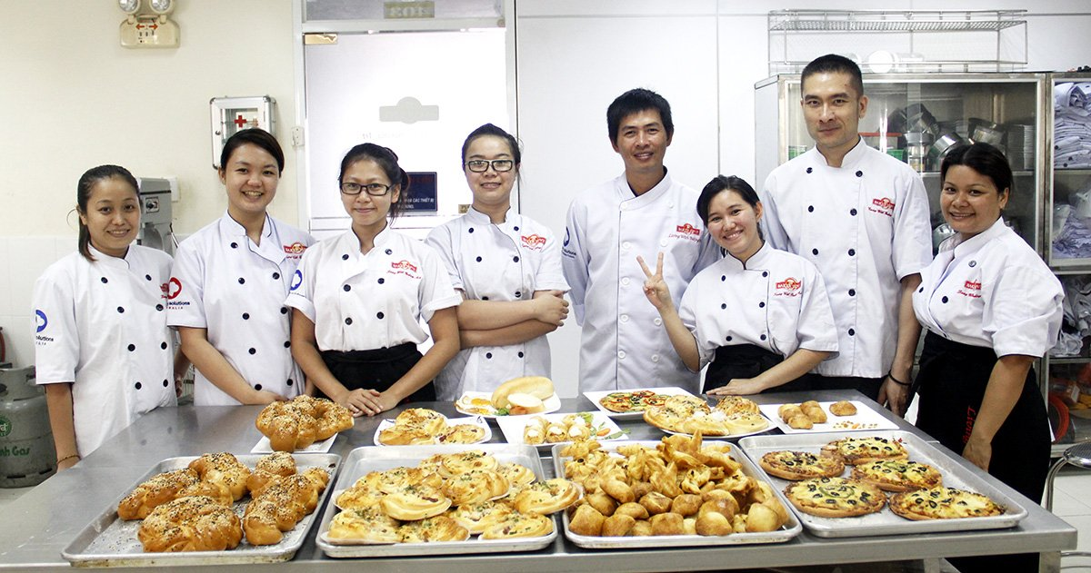 Khóa học làm bánh chuyên nghiệp