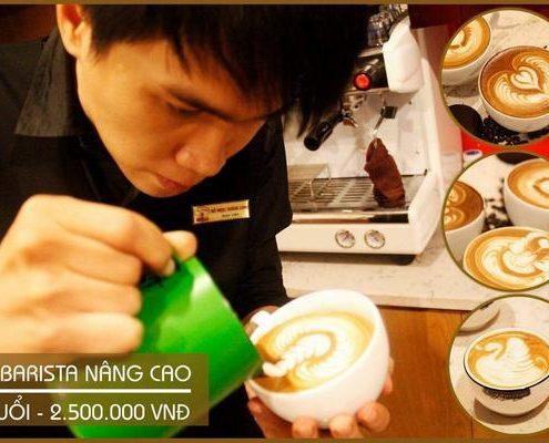 Khóa Học Latte Art
