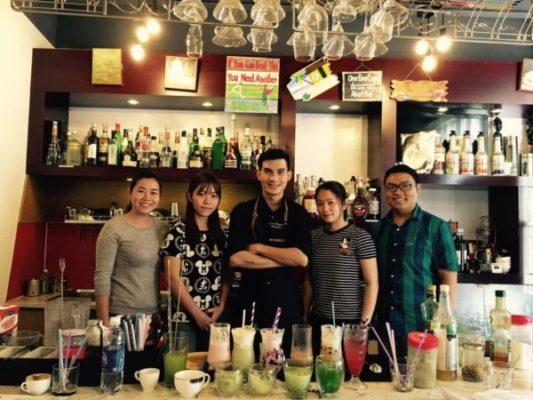 Lớp Học Pha Chế Bartender