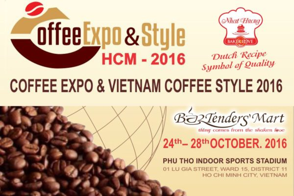 Thư mời tham dự hội chợ Coffee Expo & Viet Coffee Style 2016
