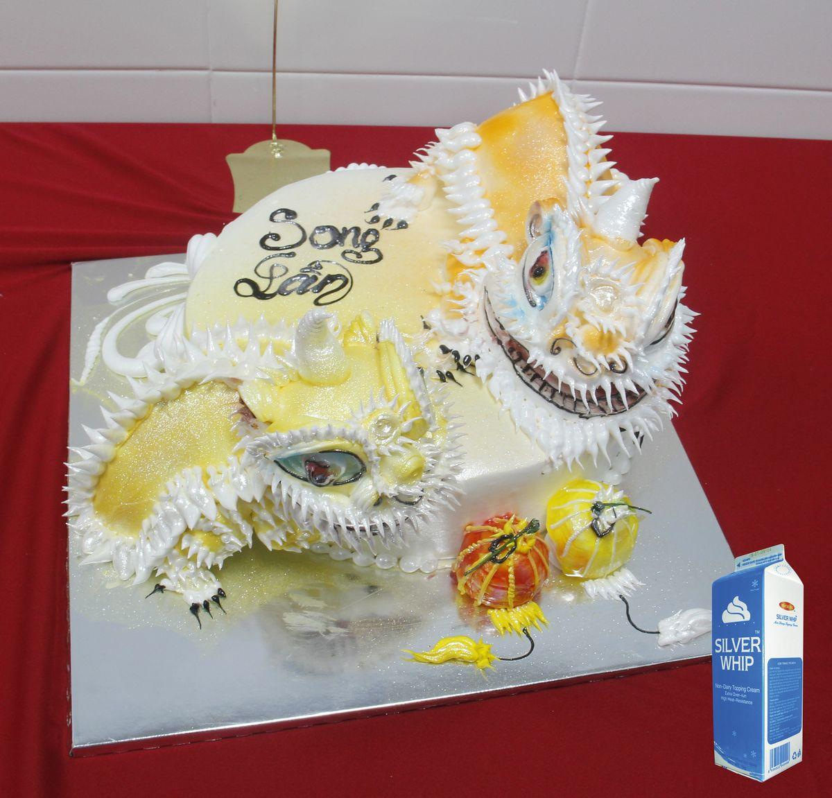Hình ảnh bánh kem chủ đề Tết Trung Thu